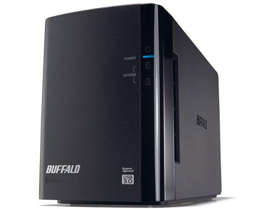 バッファロー/ドライブステーションHDD 2ドライブ 6TB/HD-WL6TU3/R1J
