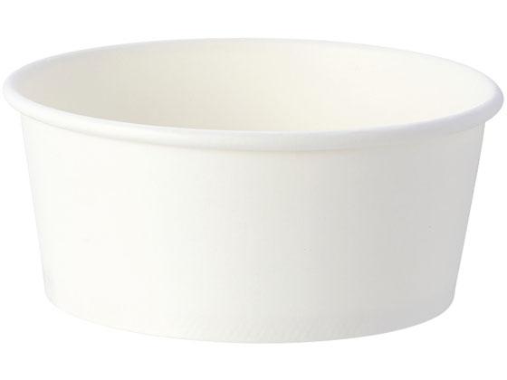 シモジマ/ホワイトアイスカップ 115-270 9オンス(270ml) 50個×20袋
