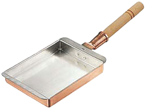 丸新銅器/銅玉子焼 関西型 24cm