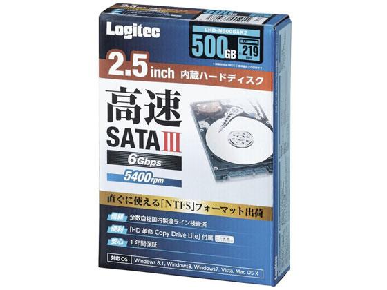 新発売 エレコム/2.5インチ内蔵HDD/LHD-N500SAK2, The Hatter:9afbaa41 --- maalem-group.com