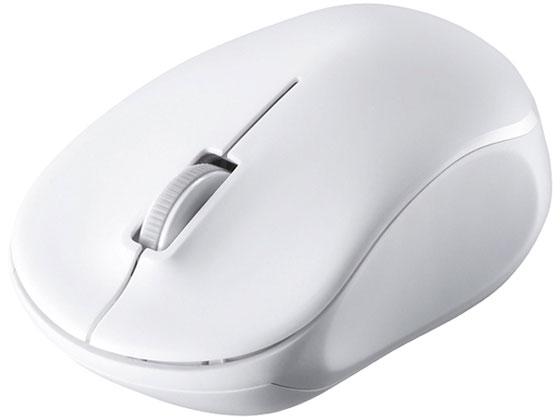 お見舞い 納期約5日 税込3000円以上で送料無料 バッファロー 無線2.4GHz 輸入 3ボタン BSMRW100WH ホワイト IRLEDマウス