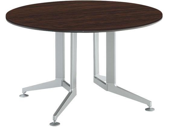 【内祝い】 コクヨ/テーブル BR 丸形メラミン 塗装脚 配線無1200 配線無1200 丸形メラミン BR, 菊水町:7480ceb0 --- lucyfromthesky.com