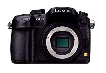 中古 パナソニック 爆安プライス ミラーレス一眼カメラ ルミックス GH3 DMC-GH3-K 1605万画素 開催中 ブラック ボディ
