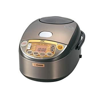 中古 象印 炊飯器 IH式 5.5合ブラウン 割り引き ストアー NP-VD10-TA