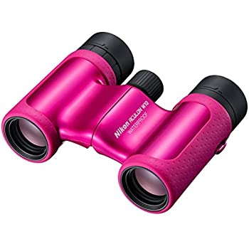 中古 Nikon 双眼鏡 アキュロン W10 8x21 ACW108X21PK 直営店 ダハプリズム式 価格 交渉 送料無料 ピンク 8倍21口径