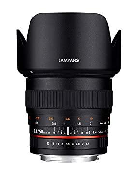 高い素材 【】SAMYANG 単焦点標準レンズ 50mm F1.4 キヤノン EF用 フルサイズ対応, ビジネスマン御用達のビズイズム 503660e0