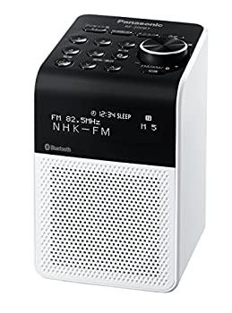 限定品 中古 パナソニック FM 送料無料 新品 RF-200BT-W 2バンドラジオ AM