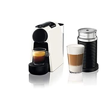 中古 バーゲンセール ネスプレッソ コーヒーメーカー エッセンサ ミニ D 贈呈 D30WH-A3B-CP バンドルセット ピュアホワイト