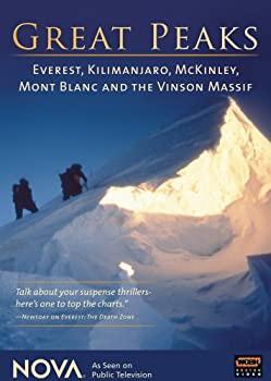 中古 Nova: Great Peaks 高級 - Import Everest DVD Mckinley オンライン限定商品 Kilimanjaro