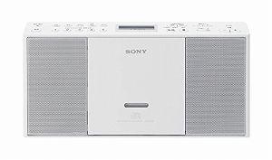 中古 ソニー SONY 今だけスーパーセール限定 CDラジオ ZS-E30 : ワイドFM対応 高品質新品 W FM AM ホワイト