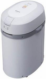 買い物 中古 パナソニック 家庭用生ごみ処理機 MS-N22-H リサイクラー 海外輸入 グレー