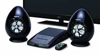 中古 Olasonic 薄型テレビ用高音質スピーカー ブラック B ハイクオリティ 注文後の変更キャンセル返品 TW-D7OPT