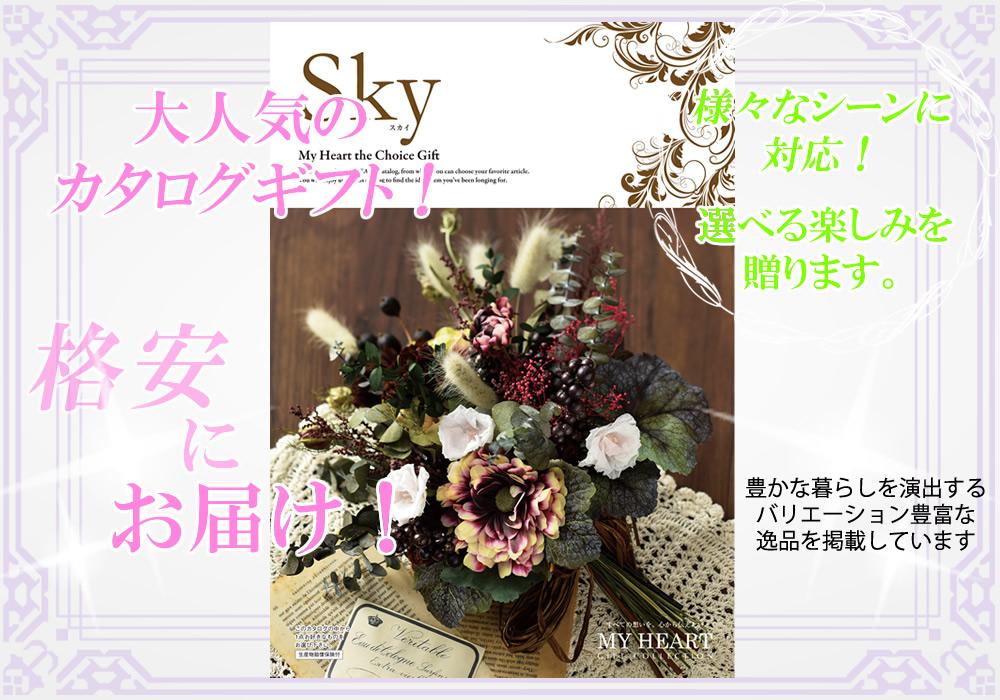 カタログギフト スカイ【25600円コース】