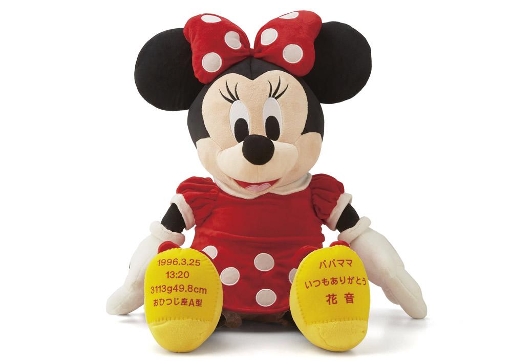 DISNEY【ディズニーウェイトドール】ミニーマウス