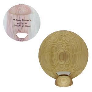 ファーストバイトに♪サッカーボール型ビッグスプーン・飾り台付き 誓のスプーン【レーザー彫刻 名入】