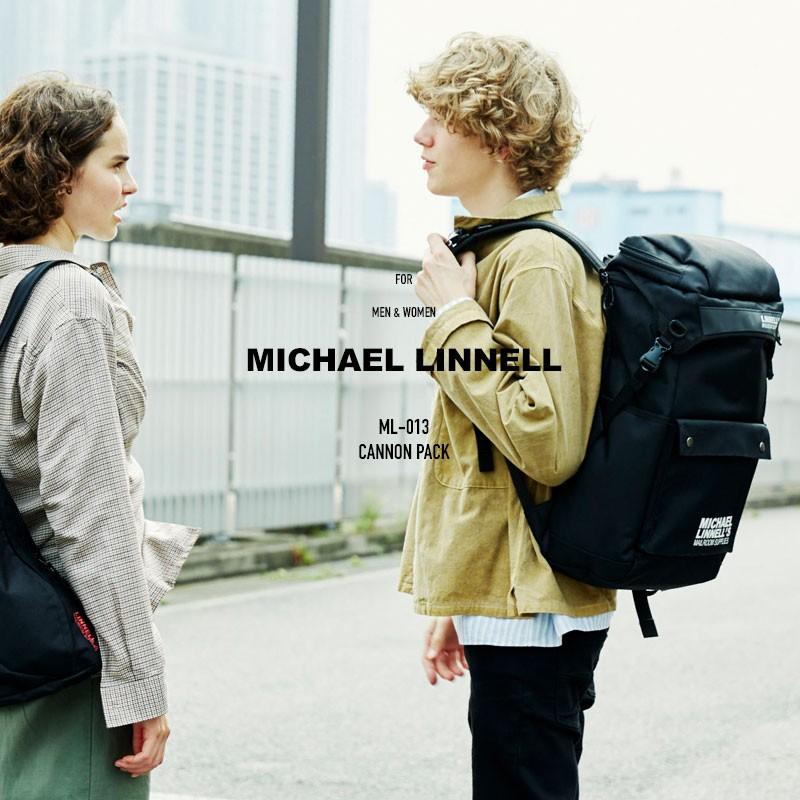 リュック リュックサック バックパック メンズ レディース マイケルリンネル ML-013 フラップ リュックサック MICHAEL LINNELL