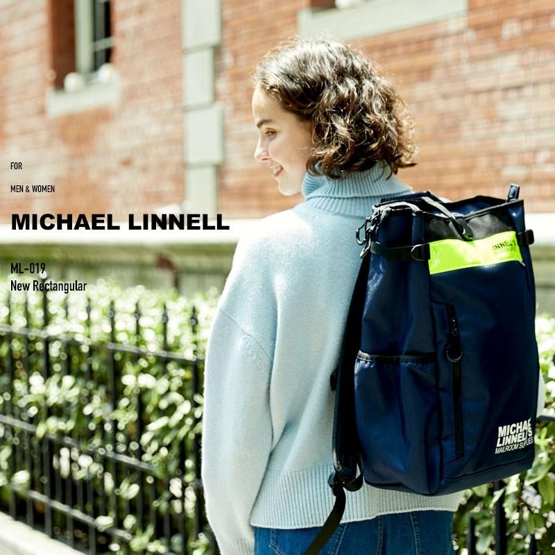 リュック リュックサック バックパック メンズ レディース マイケルリンネル ML-019 スクエア リュックサック MICHAEL LINNELL