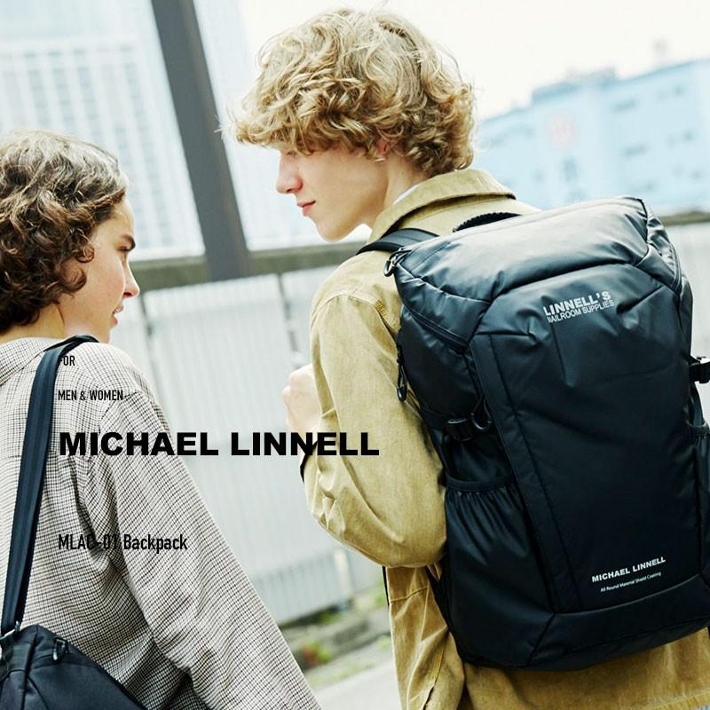 リュック リュックサック バックパック メンズ レディース マイケルリンネル MLAC-01 リュック バックパック MICHAEL LINNELL