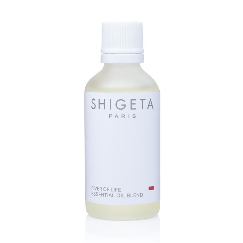 [正規販売店] リバーオブライフ SHIGETA シゲタ 50ml ピュアエッセンシャルオイル(精油) サイプレス、ローズマリー、ペパーミント、クラリーセージなどのオイルが、脚のお肌のひきしめをもたらします