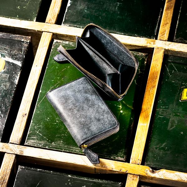 金の採掘をイメージしたシリーズ砂金の眠る地中 ラウンド小銭入れ 伝統職人 新作製品、世界最高品質人気! COCOMEISTER ココマイスター 直営限定アウトレット ゴールドマイニング ラッシュ