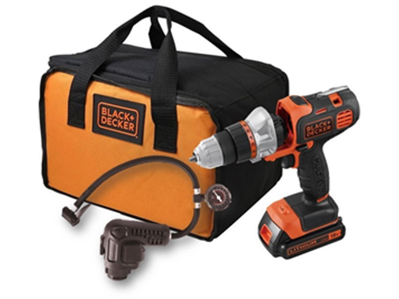 ブラック・アンド・デッカー コードレスマルチツール オレンジ BDCDMT120