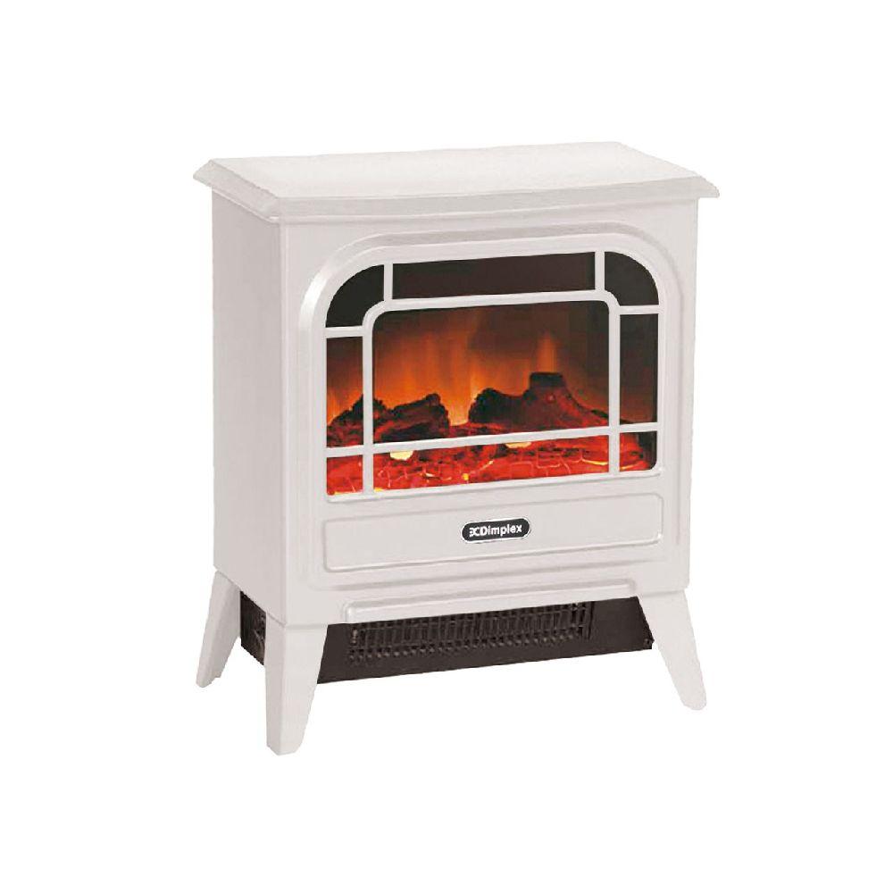 まるで本物のような炎のゆらめきと質感を実現 ディンプレックス 電気暖炉 実物 ホワイト MCS12WJ 2020暖房 期間限定特価品 電気ストーブ
