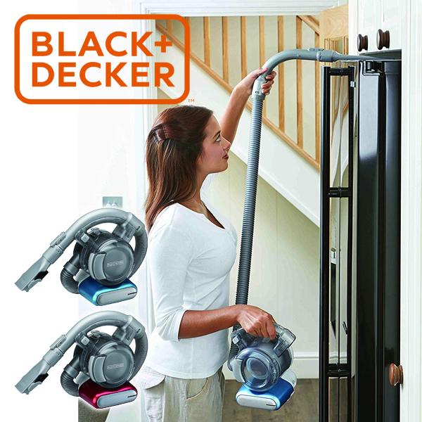 掃除機 ハンディクリーナー フレキシー BLACK+DECKER PD1420L | 充電式 コードレス ハンディ クリーナー サイクロン式