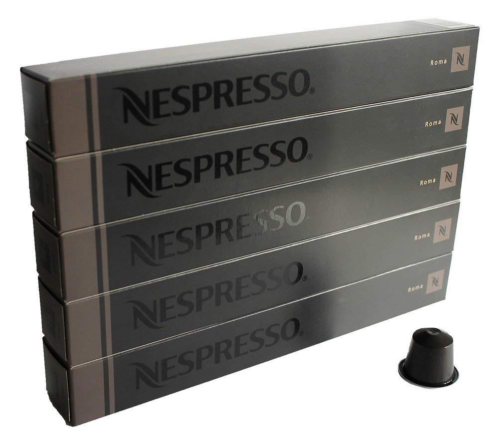 Nespresso ネスプレッソ ローマ 1本 10個入 x 5本 合計 50 カプセル