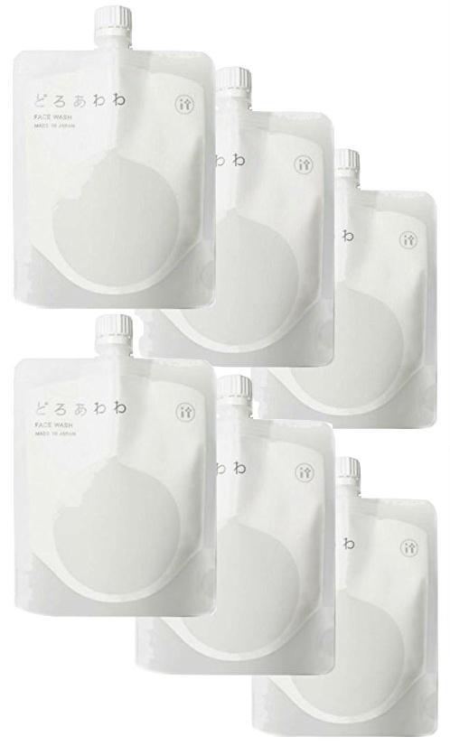 どろあわわ 6個 専用ネット付き どろ豆乳石鹸 110g 110g どろ豆乳石鹸 もっちり泡 フェイスウォッシュ 健康コーポレーション 洗顔ネット付き 6個 送料無料 (newパッケージ), 港北区:3633f53b --- officewill.xsrv.jp