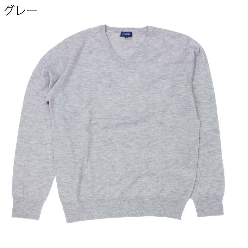 メンズ ウール100% Vネック セーター SCHIATTI刺繍名入れ無料 (70代 80代 男性 紳士 高齢者服 ギフト 敬老の日 シニア向け 服 衣料 介護 老人 高齢者 父の日 ファッション シニア)通販