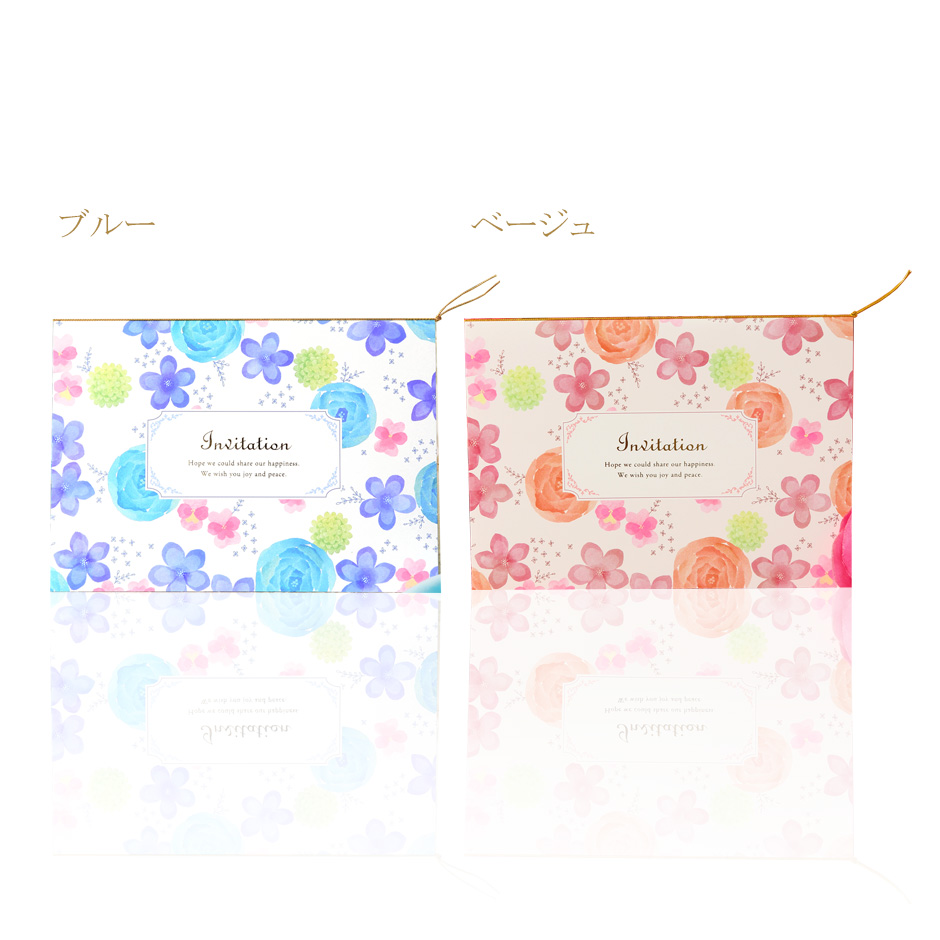 cocosab rakuten global market wedding invitation floral