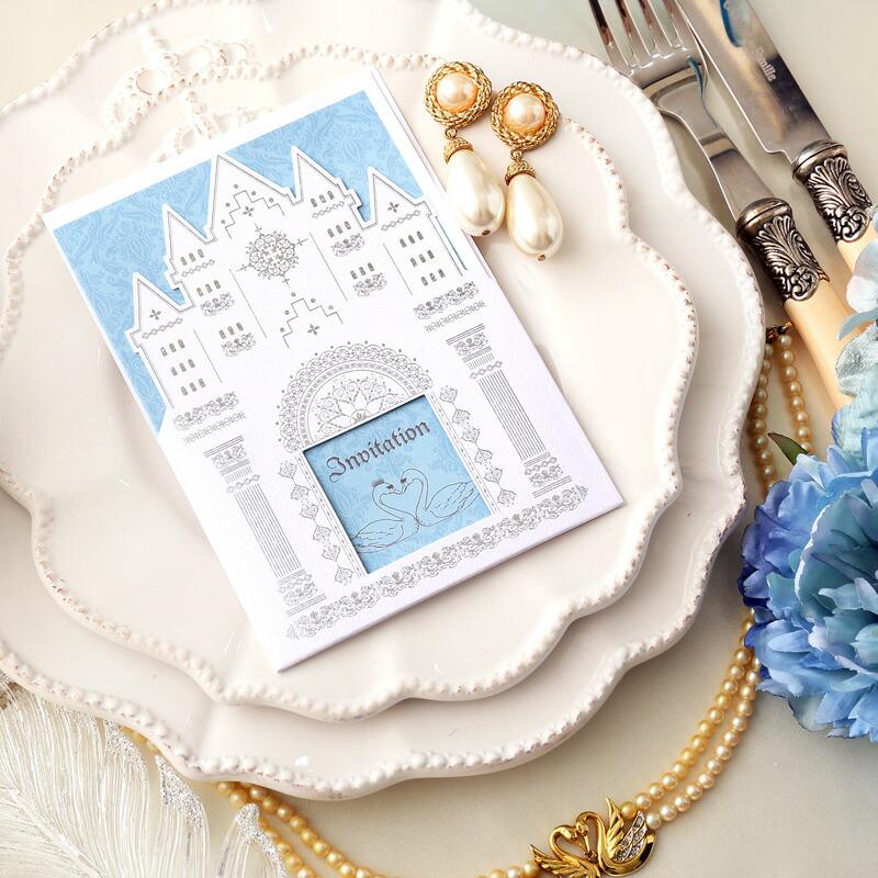 Brides Wedding Invitation Kit: Cocosab: 10 Bundles Of Schwann Invitations, Wedding