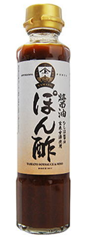 YAMATOブランド 無料 活酵素 ヤマト醤油味噌 卸直営 醤油ぽん酢 180ml