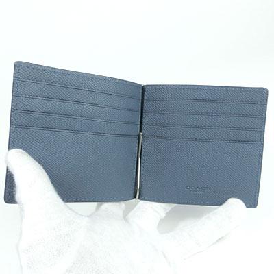 4736f863c0d5 ... コーチCOACH財布メンズコーチCOACH二つ折り財布マネークリップカードケースマネークリップビルフォールドイン ...