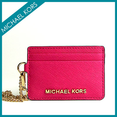Brand bag shop coco style rakuten global market michael michael michael michael kors michael michael kors business card holder card michael kors ladies wallet size pass card case id case michael kors card put the purse reheart Choice Image