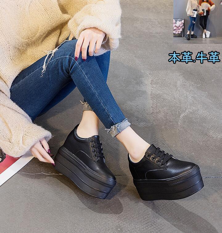 送料無料 インヒール厚底ブーツ本革 レディース 約3.0cmのインヒールでこっそり脚長に 厚底靴 厚底ブーツ本革 牛革 アウトレット☆送料無料 奉呈 7.5cmヒール 防滑シューズ 痛くない 歩きやすい ホワイト 靴おしゃれ 美脚 履きやすい ブラック 無地