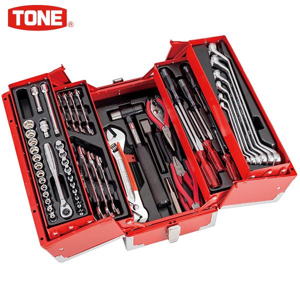 TONE(トネ):ツールセット(インチサイズ工具セット)差込角9.5mm 全65点 TSB330