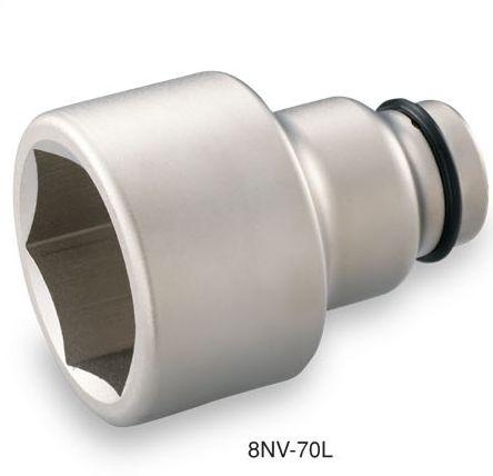 あす楽 TONE(トネ):インパクト用ロングソケット差込角25.4mm 8NV-65L
