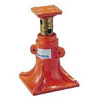 ナベヤ:建築ジャッキ E-9112 KJ-75(927837) 強靱鋳鉄 剛性 強力作業
