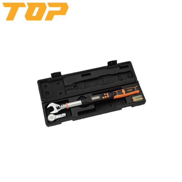 TOP(トップ):モンキ形 ラチェット形デジタルトルクレンチセット DS135-15BN