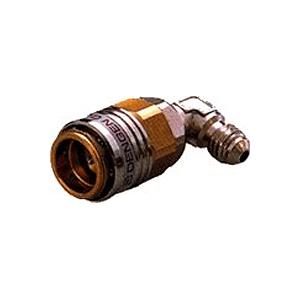 低価格 4562396135279 デンゲン:低圧用L型クイックジョイント HFC-134a 国内送料無料 CP-LKF3-90°
