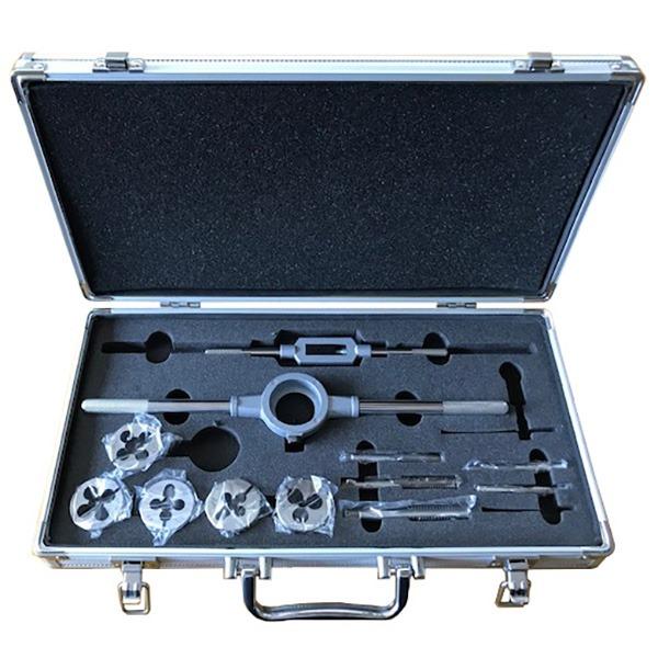 ライト精機:タップダイスセット(ウイットネジ) 入組明細:1 4・5 16・3 8・7 16・1 2 ダイス外径:38 タップ(本)1 種類:(ウイットネジ) OK1