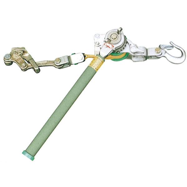 NAGAKI(永木精機):ハルー張線器(標準型)ベルト式 500(3型)外線用 20201 物流 荷役