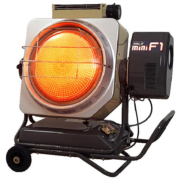 【代引不可】[業務用 速熱 スポット暖房]静岡製機:赤外線オイルヒーター VAL-6miniF1