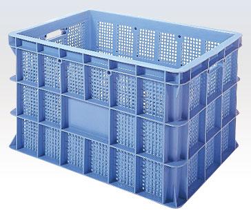積水テクノ:BSタイプコンテナ[マルチコンテナ] 3個入(ブルー) BS-200