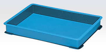 積水テクノ:PZタイプコンテナ[自動搬送機対応] 30個入(ブルー) PZ-0004