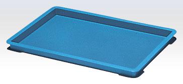 積水テクノ:PZタイプコンテナ[自動搬送機対応] 30個入(ブルー) PZ-0006