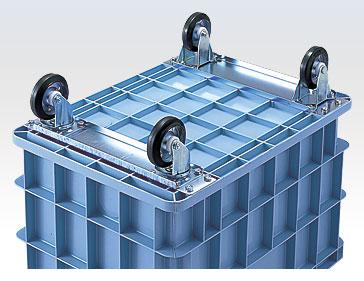 積水テクノ:Sタイプコンテナ 1個入(ブルー) S-200