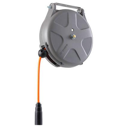 三協リール:エアーホースリール(ウレタンホース)1/4 10m [ブレーキ式] SHS-210FA 工具 エア工具