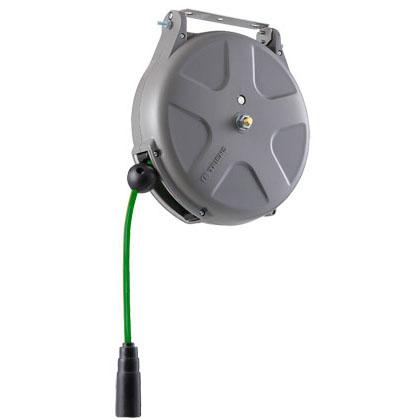 三協リール:導電エアーホースリール(導電ホース)1/4 10m SHS-210EA